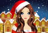 Christmas Girl Makeover