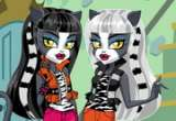 Monster High Werecat Sisters Dress Up