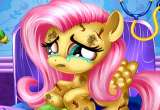 Little Fluttershy at the hospital