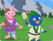Backyardigans na Terra do Robin Hood