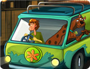 Jogo Estacionar do Scooby Doo