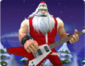 Guitar Hero do Papai Noel