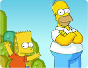 Os Simpsons no Jogo do Mario World
