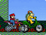 Mario vs Browser na Corrida