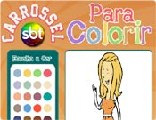 Colorir do Carrossel