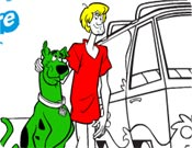 Colorir o Scooby Doo
