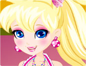 Polly Pocket - Facial Makeover