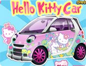 Carro da Hello Kitty
