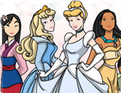 Colorir Princesas