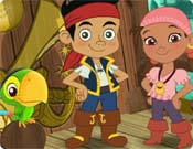 Jogos do Jake - Jake e os Piratas