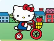 Bicicleta da Hello Kitty