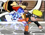 Luta do Naruto