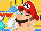 Mario Take a Shower