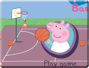 Peppa Pig Basketball ...