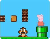 Peppa Pig no Super Mario Bros