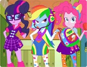 Equestria Girls na Escola