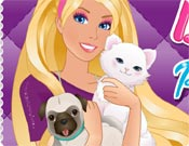 Barbie Pet Beauty Salon