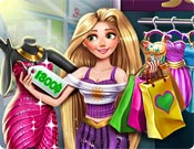 Rapunzel no Shopping