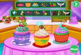 Colorful Cupcakes For Love